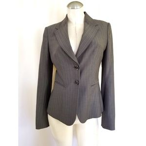 The Limited Travel Suit Size 4 Blazer Gray Taupe